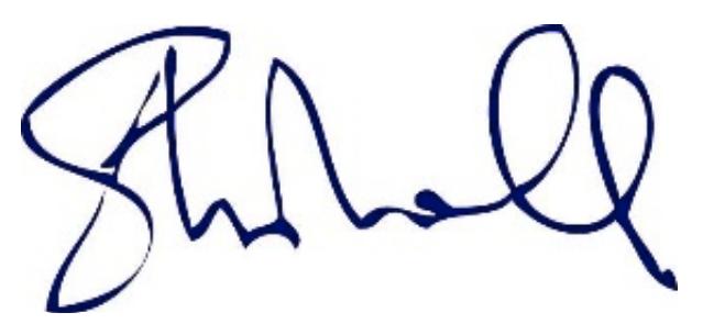 Signature of Steven Marshall PREMIER OF SOUTH AUSTRALIA
